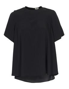 KENZO Heart Pleat Silk Black