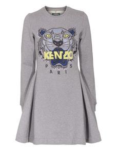 KENZO Tiger Roaring Long Grey