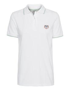 KENZO Tiger Polo Cotton White
