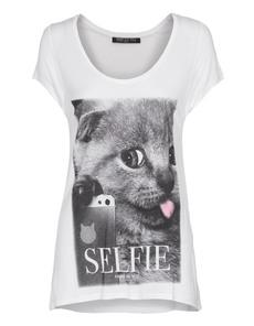 FAME ON YOU Selfie Kitten White