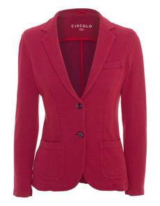 Circolo 1901 Waisted Knit Red