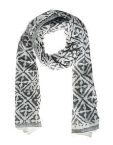 FRIENDLY HUNTING Stola Eyes of Marrakesh Ivory Grey