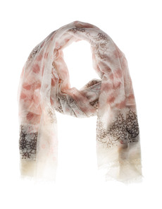 FRIENDLY HUNTING Stola Felted Paisley Nude