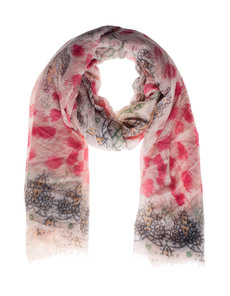 FRIENDLY HUNTING Stola Felted Paisley Pink