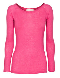 FRIENDLY HUNTING O-Neck Roll London Pink