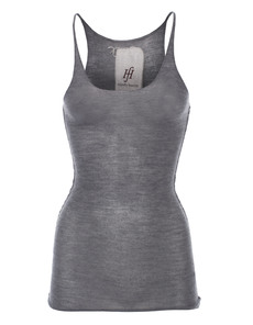 FRIENDLY HUNTING Pury Long Top Cashmere Grey