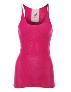 FRIENDLY HUNTING Pury Long Top Cashmere Pink