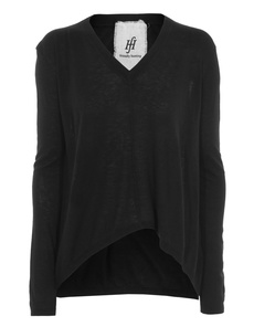 FRIENDLY HUNTING Pury Ribbed Tailored Black