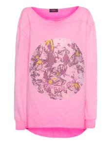 CAMOUFLAGE COUTURE STORK Crazy Smiley Fluo Pink