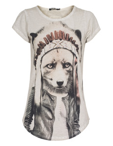 TIGHA Headman Fox Smokey White