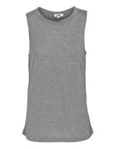 LNA CLOTHING Boyfriend Tank Heather Grey