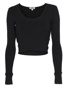 LNA CLOTHING Glasson Crop Black