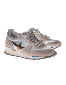 GOLDEN GOOSE Running Silver