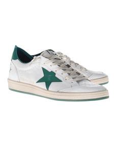 GOLDEN GOOSE Sneaker Ball Star White Green