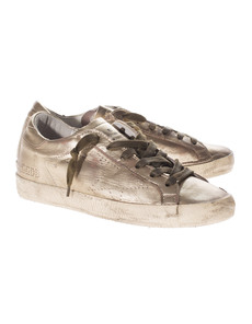 GOLDEN GOOSE Super Star Gold Skate