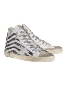 GOLDEN GOOSE Francy Leather White
