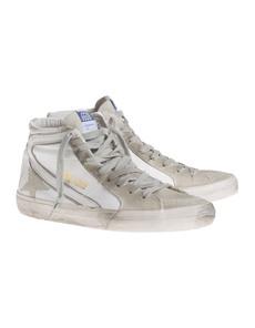 GOLDEN GOOSE Slide Leather White
