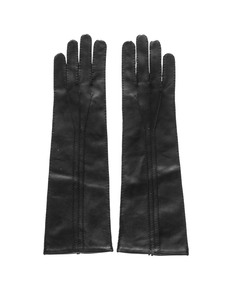 BORIS BIDJAN SABERI Hand Leather Black