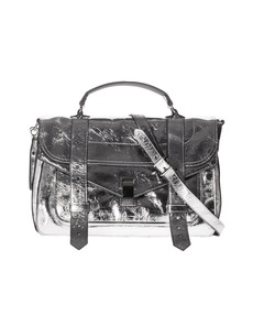 PROENZA SCHOULER PS 1 Medium Metallic Silver