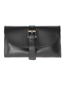 PROENZA SCHOULER Buckle Bag Clutch Ciclone Black