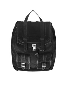 PROENZA SCHOULER PS 1 Backpack Suede Black