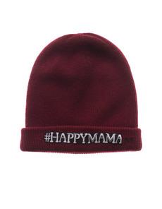 Maison Michel Hashtag Happy Brick Red
