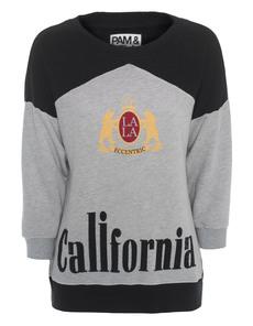 Pam&Gela California 3/4 Boxy Black Grey