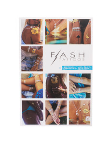 FLASH TATTOOS Goldfish Kiss H2O