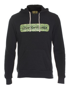 UNSTOPPABLE NYC Leaf Print Black