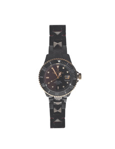 TOYWATCH Toy MrHyde Studs Black Red