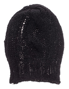 ISABEL BENENATO Heavy Knit Twist Black