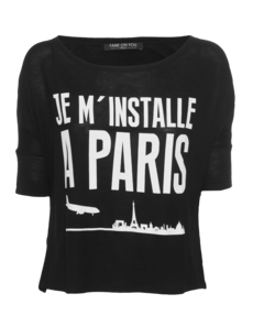 FAME ON YOU Je M'Installe A Paris Black