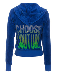 JUICY COUTURE Choose Couture Velour Seaside