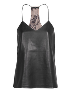 TIBI Cami Chantilly Black