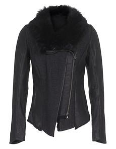 VSP Shearling Linen Blend Black