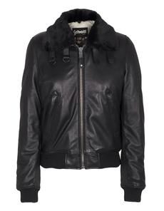 Schott NYC Pilot Leather Black