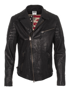 TRUE RELIGION Biker Black