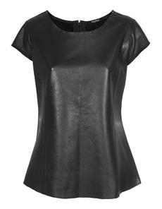TIGHA Feminine Waist Leather Black