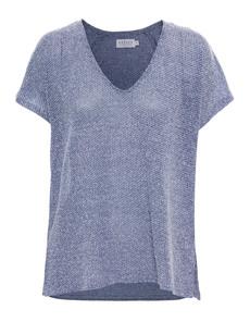 VELVET BY GRAHAM & SPENCER Mahogany Knit Blue