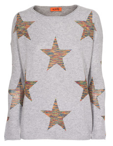 Miss Goodlife Rainbow Glitter Stars Grey