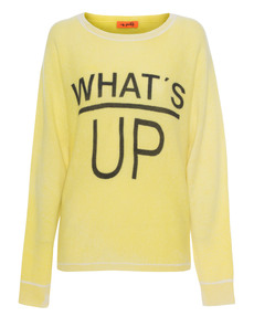 Miss Goodlife Whats Up Knit Yellow