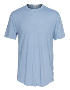 JAMES PERSE Clear Jersey Crew Light Blue