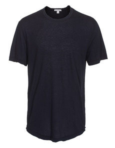 JAMES PERSE Short Sleeve Crew Neck Deep Blue