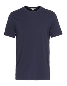 JAMES PERSE Short Sleeve Crew Neck Dark Blue