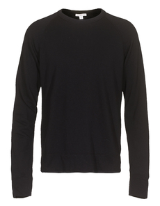 JAMES PERSE Basic Raglan Black
