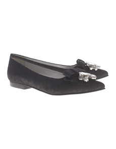 THE NO ANIMAL BRAND Flat Lace Black