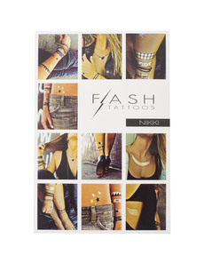 FLASH TATTOOS Nikki Edgy Chic
