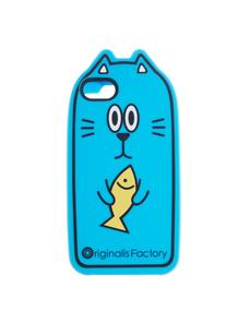 Originalis Factory Cat with Fish blue