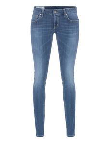 Dondup Pantalone Lambda Wash Blue