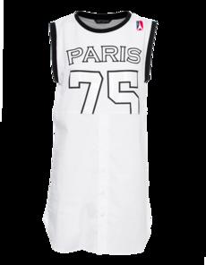 FAME ON YOU Paris 75 Tank Black White